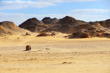Sahara desert, Western desert, Egypt, Africa Imagens