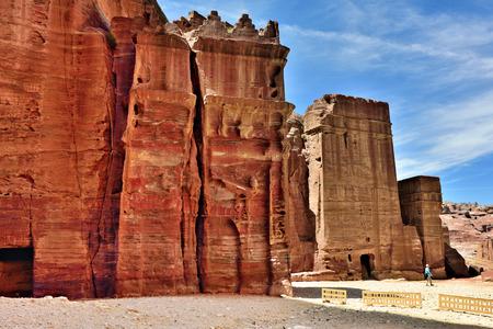 tumbas: Tombs in Petra,  Jordan