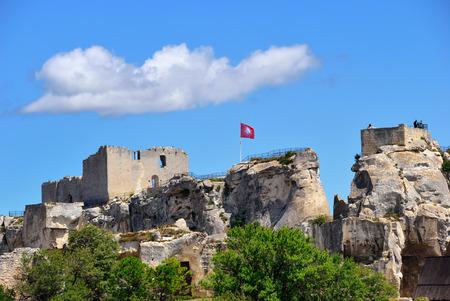 luberon: Les Baux de Provence castle. France, Europe