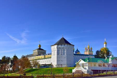 lavra: Trinity-Sergey lavra monastery in town Sergiev Posad in Moscow region, Russia.