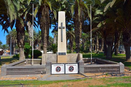 swakopmund: War monument in Swakopmund, Namibia