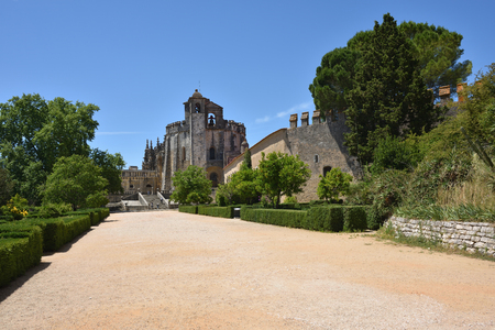 cloister: The Convent of Christ is a former Roman Catholic monastery in Tomar Portugal. The convent was founded by the Order of Poor Knights of the Temple in 1118