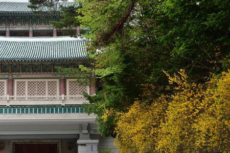 International exhibition of friendship. Gift museum to the presidents Kim Il Sung, Kim Jong Il, Kim Jong Un. Myohyang-san mountain, DPRK