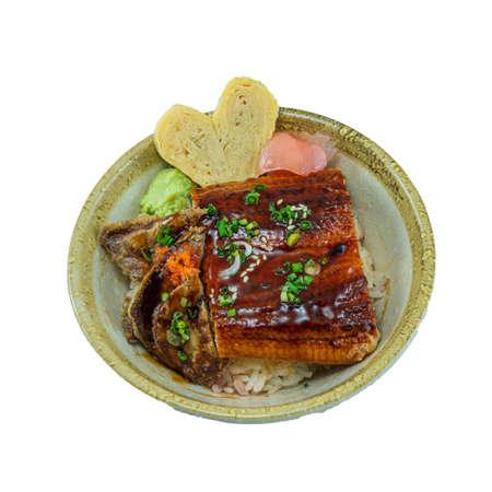 Japanese Food : Unagi-Foie Gras Don