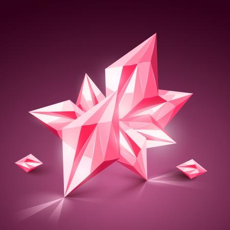 現実的なベクトルの宝石