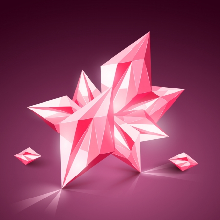 Realistic vector gem
