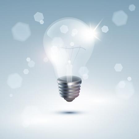 filament: Realistic light bulb