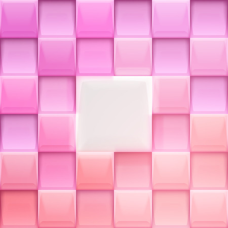 Vector abstract squares colorful background illustration. Illustration