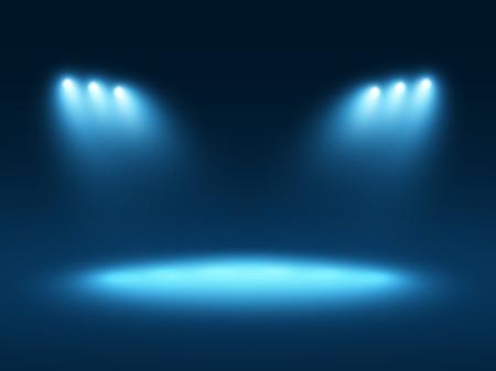 Abstract sfondo azzurro Vettoriali