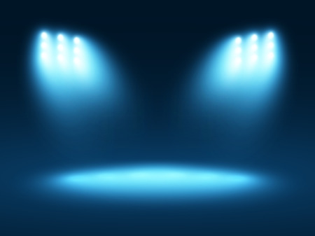 Abstract light blue background Illustration