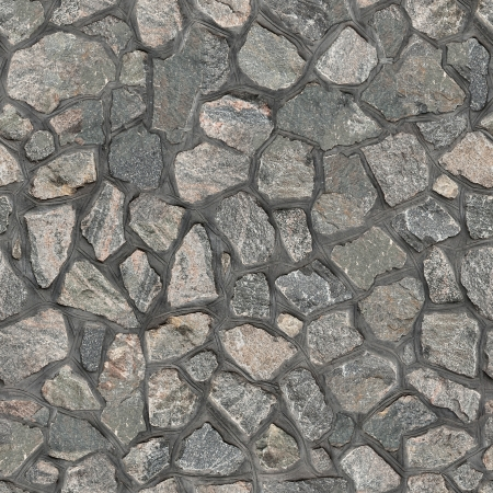 rubble: Granite Rubble Seamless Texture Stock Photo