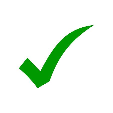 vérifier le vecteur d'icône. icône de coche. icône de bouton de liste de contrôle