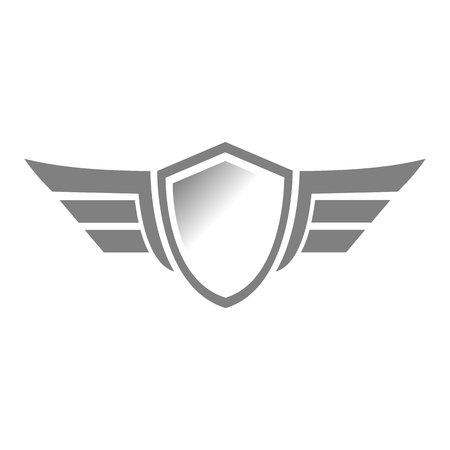Shield vector icon. Protection icon vector. Security vector icon Ilustrace