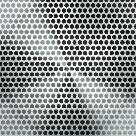 brushed steel: Vector illustration metal texture background Illustration