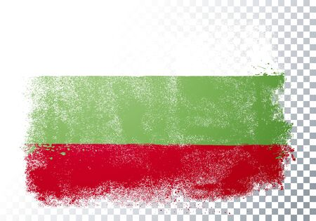 Vector Illustration Distortion Grunge Flag Of Bulgaria