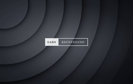 Vector illustration luxury dark black premium background.