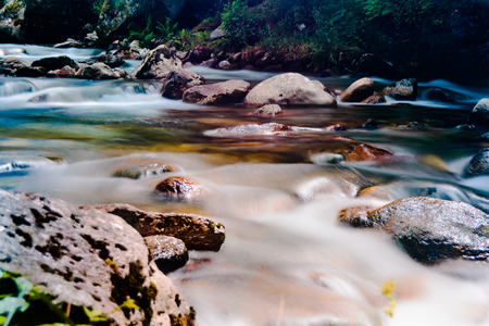 flowing river: Beautiful flowing river near Andorra