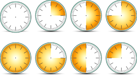 times: times clock Illustration