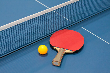 table tennis: table tennis Stock Photo
