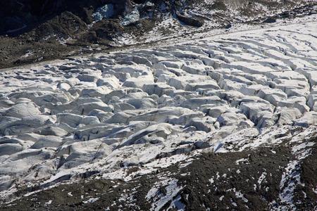 crevasse: Morteratsch glacier