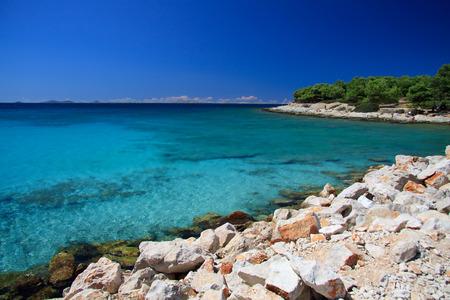 Podvrke beach in Murter - Croatia
