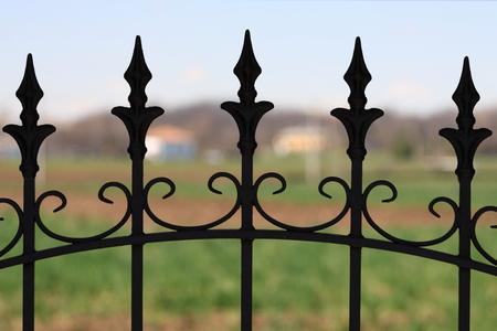 puertas de hierro: puerta