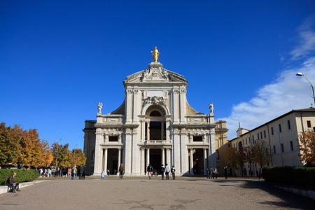 Basilica of Santa Maria degli Angeli  Umbria Stock Photo
