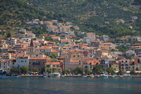brac: Makarska, island of Brac  Croatia  Stock Photo