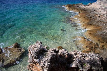 brac: Murvica, island of Brac Stock Photo