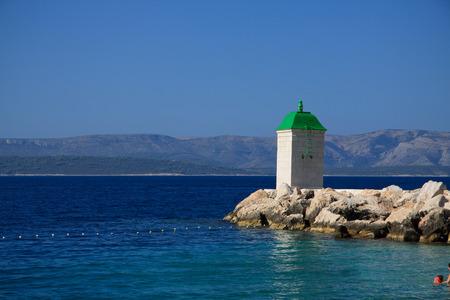 brac: Bol, island of Brac  Croatia