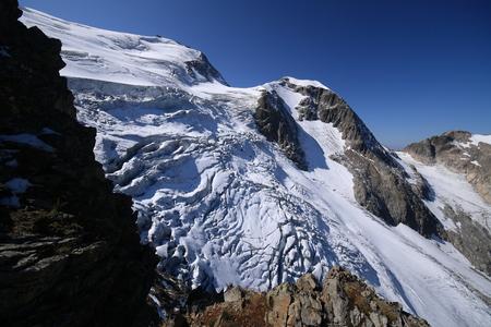 serac: sustenhorn mountain Stock Photo