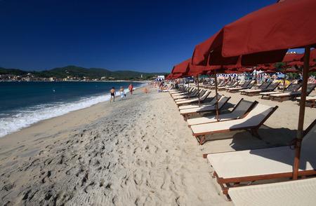 beach of Marina di Campo - Elba Island Banco de Imagens - 27893788