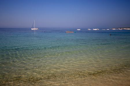 Beach Simuni - island of Pag  Croatia