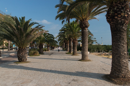 promenade of San Benedetto del Tronto