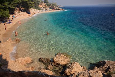 brac: Murvica beach (Bol - island Brac - Croatia)