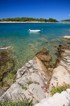 murter: Podvrske beach in Murter - Croatia Editorial