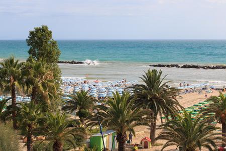 beach of San Benedetto del Tronto
