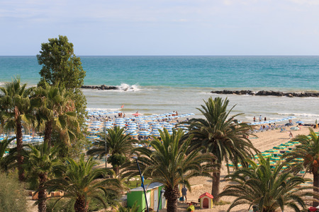 San Benedetto del Tronto의 해변