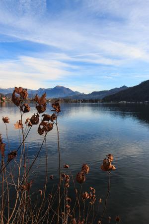 ponte: Ponte Tresa (Lake Lugano) Stock Photo