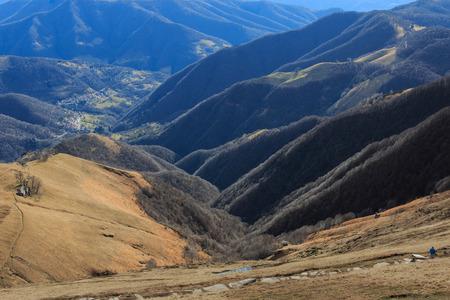 monte: view from Monte Generoso Stock Photo