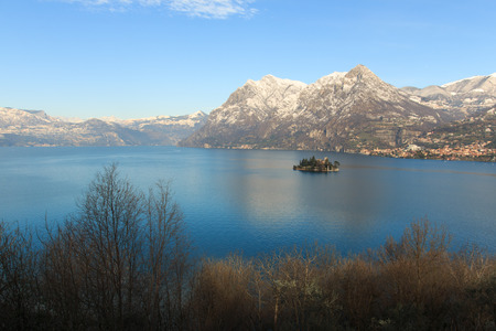 monte: Lake Iseo from Monte Isola