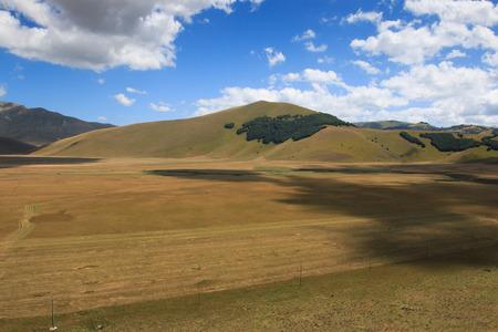 castelluccio di norcia: plain of Castelluccio di Norcia - Monti Sibillini