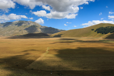 sibillini: plain of Castelluccio di Norcia - Monti Sibillini