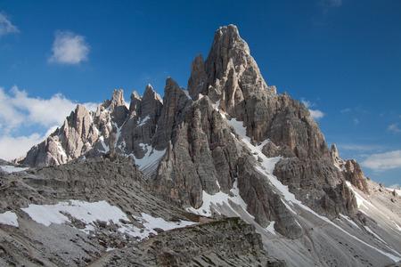 paternal: Mount Paterno Stock Photo