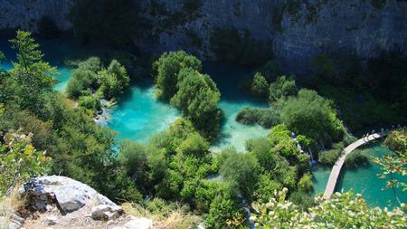 national park: lake - Plitvice National Park, Croatia