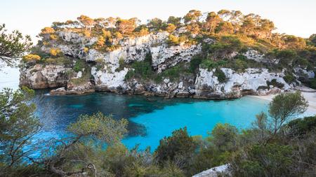 Cala Macarelleta - island of Menorca (Balearic Islands) Stock Photo