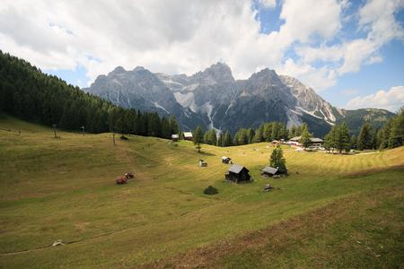 meadows of Croda Rossa