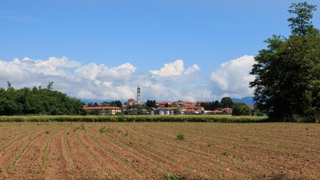village of Guanzate, province of Como Archivio Fotografico