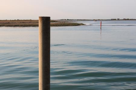 lagoon of Bibione 스톡 콘텐츠 - 97700550