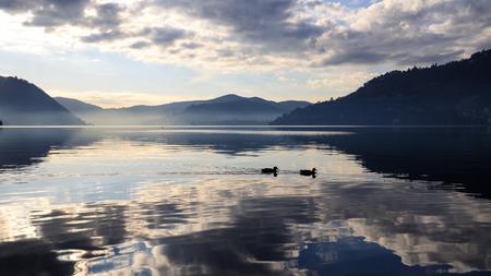 landscape of Lake Como